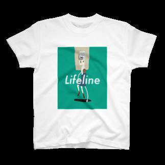 ブロッコリーの森のlifeline T-shirts