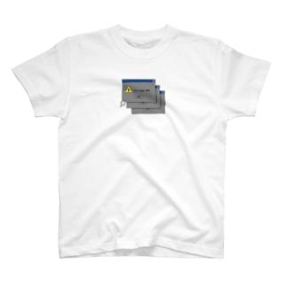 leaf【MOON】のエラーどす T-shirts