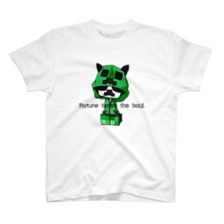 く〇ぱー風 T-shirts