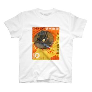 Japanese postage stamp: Asean Jamboree 1962 T-shirts