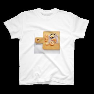 amanobakeryアマノベーカリーの小さなパントレー T-shirts