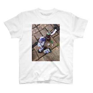 久しぶりのブロン T-shirts