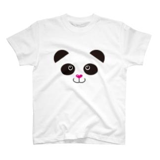 ぱんだフェイス T-shirts