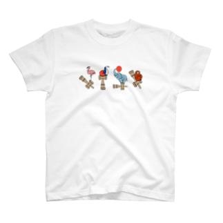 ふらぺんぞうさる(からふる) T-shirts