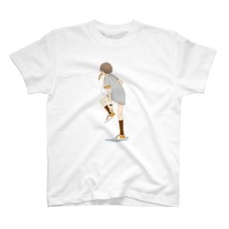 パン食い女子 T-shirts