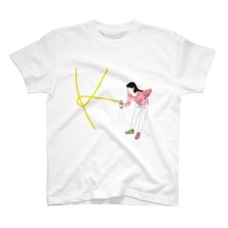 モモノフスプレー女子 T-shirts