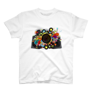 AURA_HYSTERICAの20th-Century Music T-shirts