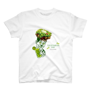 VEGETARIAN  DAY T-shirts