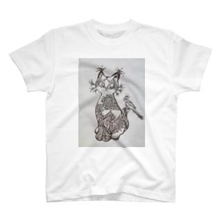 猫な幾何学。 T-shirts