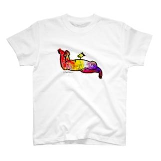 ねんねちゅんちゅん T-shirts