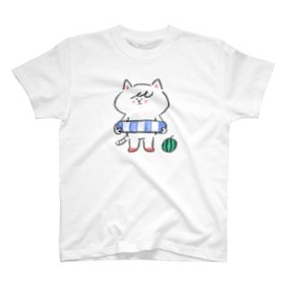 ポシェットにゃんこ協会 T-shirts