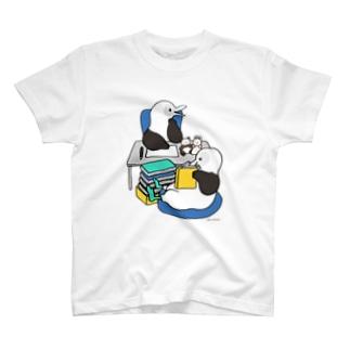 アオアシカツオドリのイラストレーター T-shirts