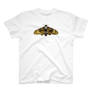 クロメンガタスズメガ T-shirts