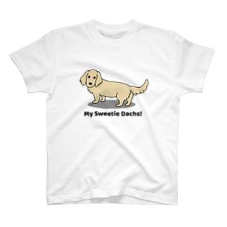 ダックス1イエロー T-shirts