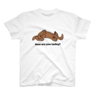 ダックス2レッド T-shirts