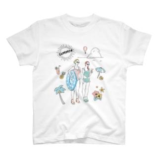水着のチャンネー T-shirts