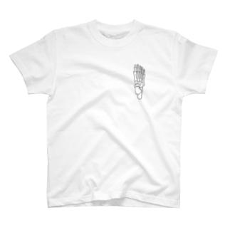 右足のほね T-shirts