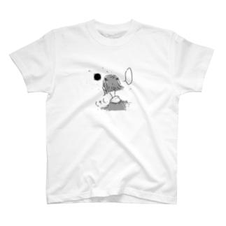 夜ちゃんの散歩Tシャツ T-shirts