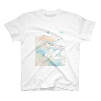 水中少女 T-shirts
