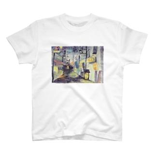 黄昏のバーボンロード T-shirts