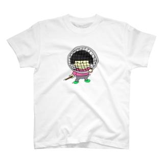 フェンシングごっこ T-shirts