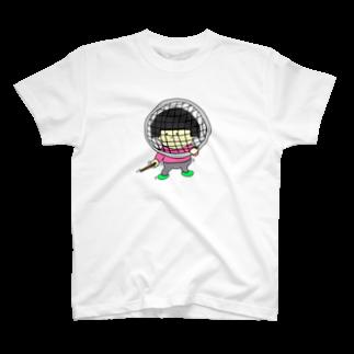 ひよこねこ ショップ 1号店のフェンシングごっこ T-shirts