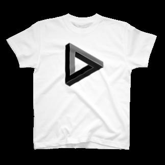 wkmのペンローズトライアングル T-shirts