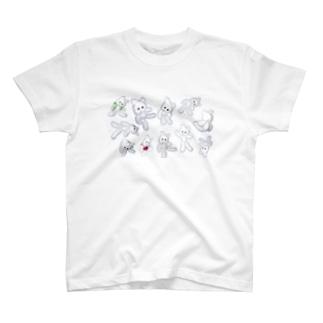くまきちポーズ T-shirts