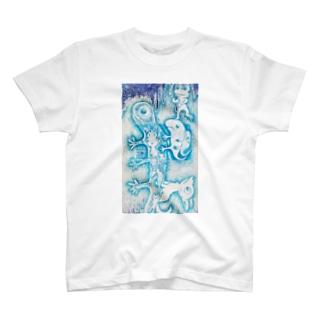 壁らくがき 01 T-shirts