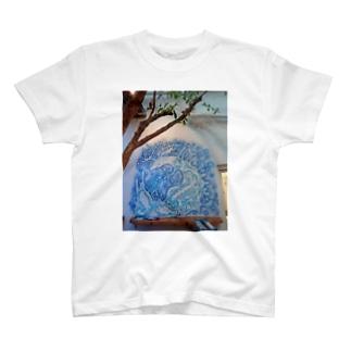 壁らくがき 02 T-shirts