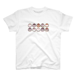 ドット絵もち文鳥 T-shirts