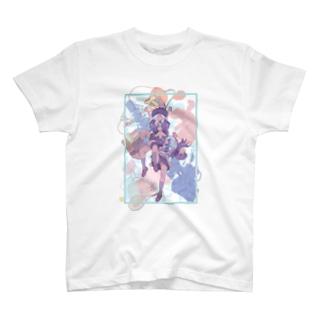 多視点少女 T-shirts
