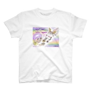 Ang24 エンジェルと白龍 T-shirts