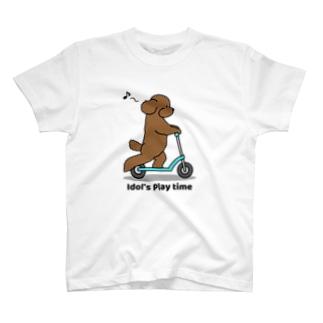 トイプー 1 赤系 T-shirts