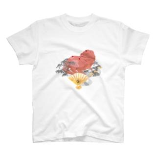 四紀 -秋- ティラノサウルス T-shirts