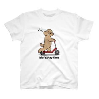 トイプー 1 アプリコット系 T-shirts