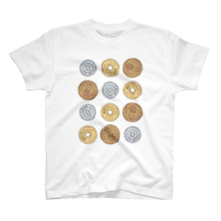 猫硬貨 六拾四 T-shirts