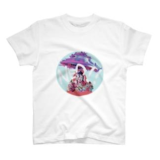ハロー!NEO☆人類(インスタント) T-shirts