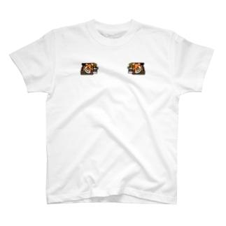 一休みタイガー スカ T-shirts