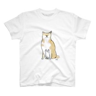 いぬこねこ T-shirts
