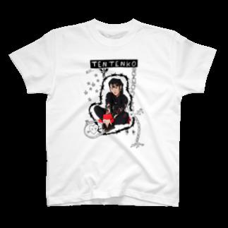 テンテンコ お絵かきTシャツ ~☤交感神経☤~ T-shirts