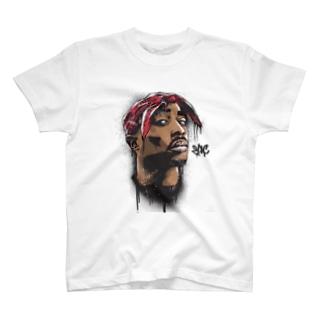 HIPHOP 2pac T-shirts