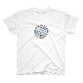 猫硬貨 壱 T-shirts