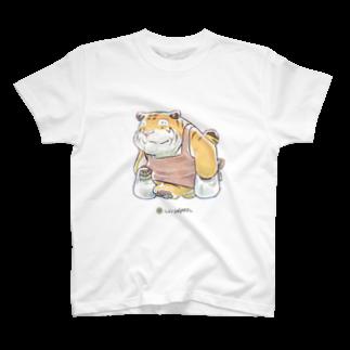 柾のLIVINGMOOL 虎 T-shirts