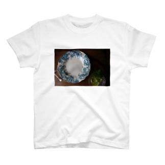 アンティークのプレート T-shirts