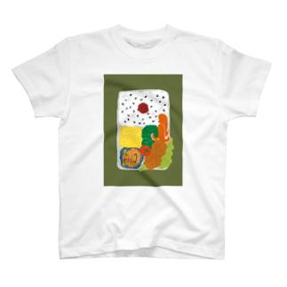 お弁当Tシャツ T-shirts