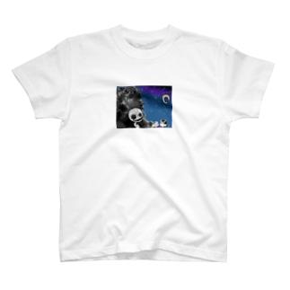 社畜ちゃんと怪物さん T-shirts