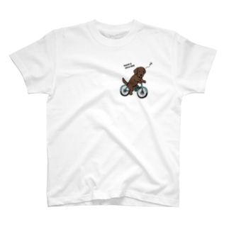 bicycleラブ チョコ(両面2) T-shirts