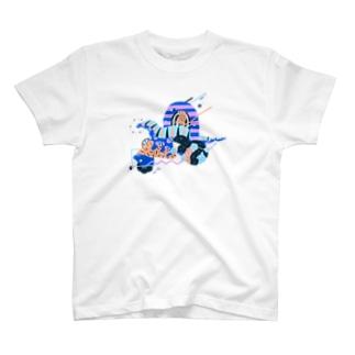 composition:アマルガサウルス T-shirts