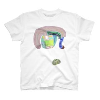 ぐんぐんどーう と 原っぱおはぎ T-Shirt